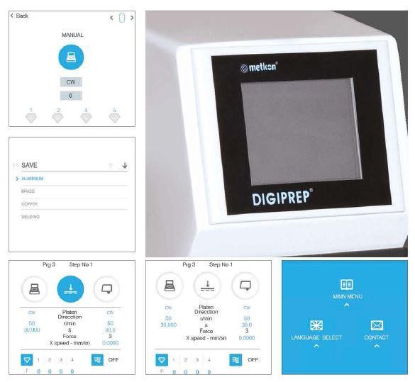 Digiprep-touchscreen