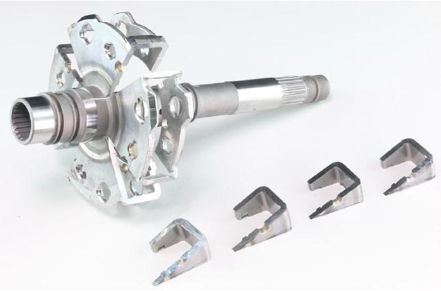Top Tech CK360 Abrasive Cutter - cut sample 1