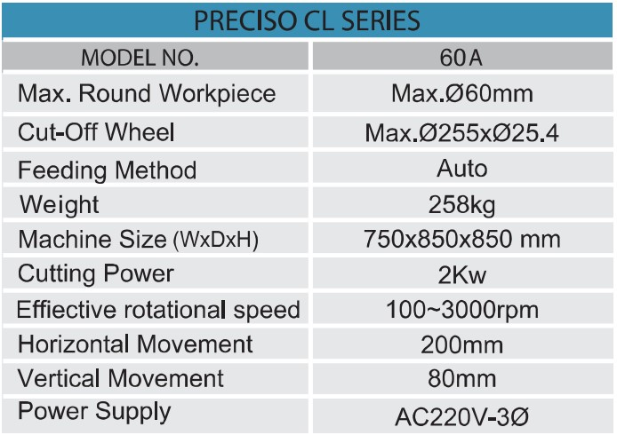 Top-Tech-specification_of_CL60A-abraive-cutting-machine